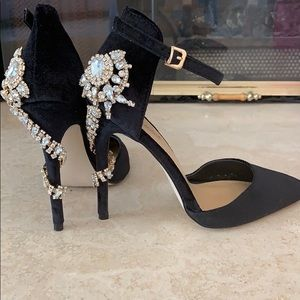 Gem stoned Valerie pump heels